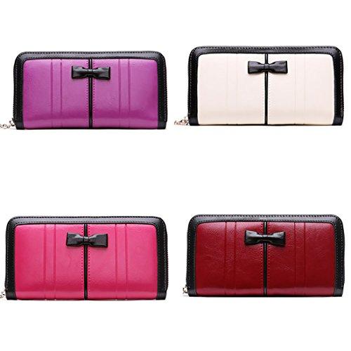 Wallet Clutch Women Damen HT Rose Pq5zx