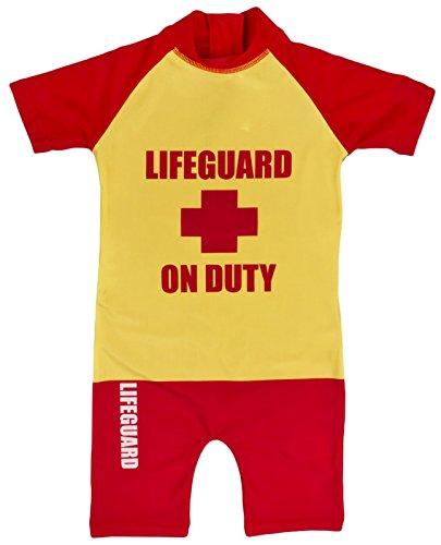 hwimmanzug/Strandkostüm mit Sonnenschutz Gr. 3-4 Jahre, Lifeguard ()