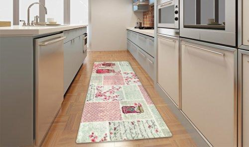 Kitch Jams Küchen-Teppich, praktisch im Patchwork-Stil ...