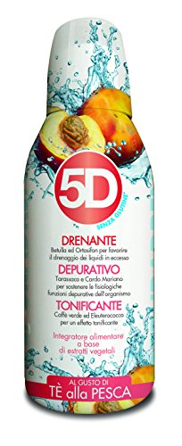 Benefit 5d depuradren  te' alla pesca 500 ml integratore alimentare