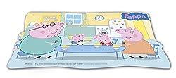 0409, Individuelle Tischdecke Peppa Schwein; George Schwein; Abmessungen 43x29 cm; Kunststoff-Produkt; kostenlos bpa.