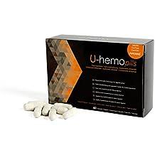 Remedios naturales contra las hemorroides - Suplemento dietético U-hemo para hemorroides internas y externas