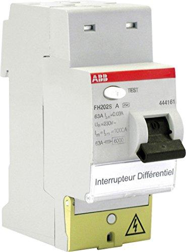 ABB abb444161Interruptor diferencial (fh202s 63A de tipo A