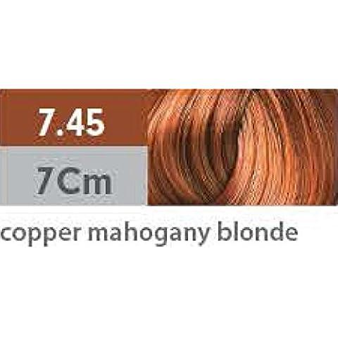 Pravana ChromaSilk Creme Hair Color with Silk & Keratin Protein 7.45 Copper Mahogany Blonde by Pravana
