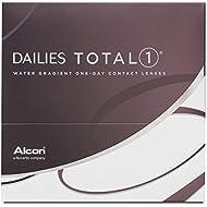Alcon Ciba Vision Dailies Total1 Tageslinsen weich, 90 Stück / BC 8.5 mm / DIA 14.1 / -1.5 Dioptrien