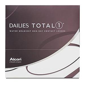 Dailies Total 1 Tageslinsen weich, 90 Stück / BC 8.5 mm / DIA 14.1 / -9,00 Dioptrien
