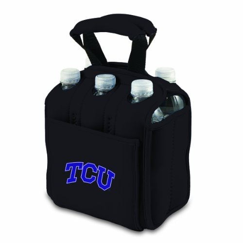 ncaa-texas-christian-horned-frogs-six-pack-cooler-tote-by-picnic-time