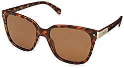 Polaroid Polarized Square Womens Sunglasses - (PLD 6036/S N9P 53SP|53|Brown Color)