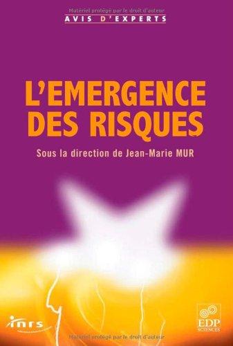 L'émergence des risques (au travail) par Jean-Marie Mur