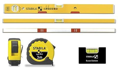 Stabila Magnet Wasserwaage 80 AM - 60 cm - Taschenbandmaß