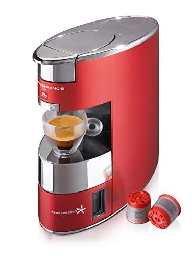 Illy 60178Maschine Kaffee Iperespresso, Rot (Illy-kaffee-maschine)