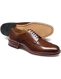 Brown Split Toe Derby Shoe by Charles Tyrwhitt