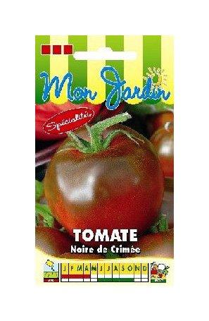 Les Graines Bocquet - Graines De Tomate Noire De Crimée - Graines Potagères À Semer - Sachet De 0.2Grammes
