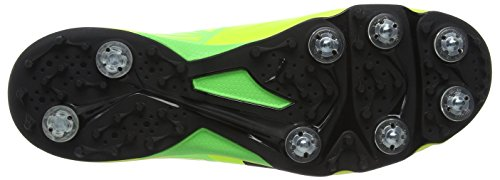 Puma Evospeed 1.5 Spike, Scarpe da Cricket Uomo Giallo (Safety Yellow-puma Black-green Gecko 03)