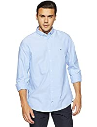 Tommy Hilfiger Men's Solid Slim Fit Casual Shirt