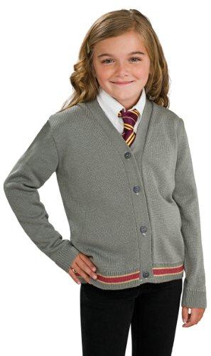 Original Lizenz Harry Potter Hermine Granger Strickjacke und Krawatte Kinderkostüm - Größe 140