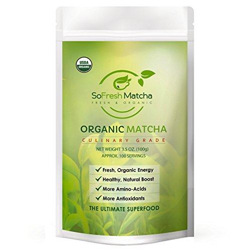 Polvo de Té Verde Matcha – Concentrado de antioxidante – Cualidad...