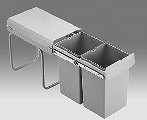 wesco einbau abfallsammler double boy deluxe k che haushalt. Black Bedroom Furniture Sets. Home Design Ideas