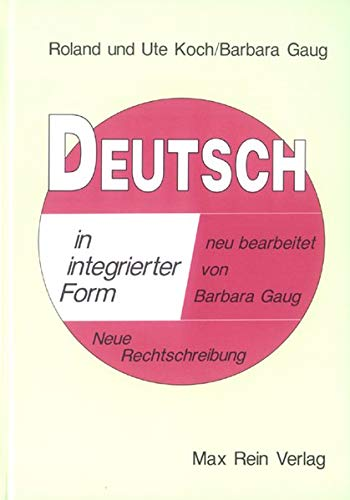 Deutsch in integrierter Form;