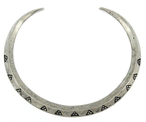 Handmade Viking Triangular Designed Money Ring Pewter Bracelet