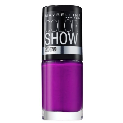 Maybelline New York Color Show 186 Fuchsia Fever, 1er Pack (1 x 7 ml) (Glossy Nail Colour)