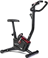 Lifelong LLF54 Fit Pro Stationary Exercise Belt Bike for Weight Loss at Home with Display and Resistance Contr