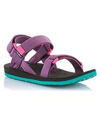 Source Kinder Sandale Urban Sandalette Jungen Mädchen verschiedene Farben / 101093 (Pink Purple)