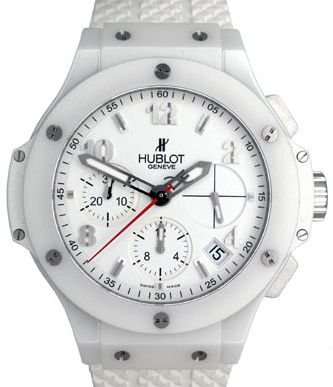 HUBLOT ASPEN WHITE CERAMIC 41MM