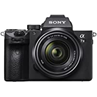 Sony ILCE7M3KB.CEC Full Frame Mirrorless Compact System Camera with SEL2870 Lens Kit - Black