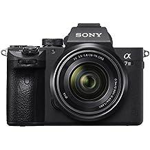 Sony α 7 III Juego de cámara SLR 24.2MP CMOS 6000 x 4000Pixeles Negro - Cámara digital (24,2 MP, 6000 x 4000 Pixeles, CMOS, 4K Ultra HD, Pantalla táctil, Negro)