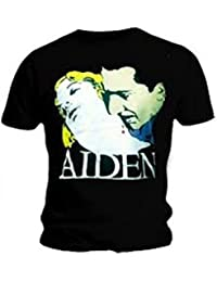 Official T Shirt AIDEN Knives BELLA Will Francis Black T Shirt