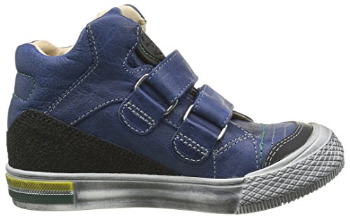 Achile Hugo, Baskets Hautes Garçon Bleu (12 Vtc Bleu/Noir Dpf/Tavolo Cap)