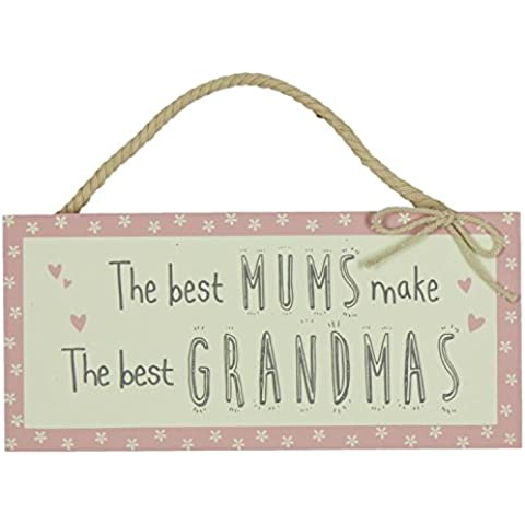 Love Life MDF rettangolare Placca & regalo Best Mums