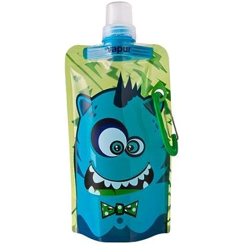 Vapur Quencher Bo- Cantimplora reutilizable de plástico, para agua, para niños- verde, 0,4 litros