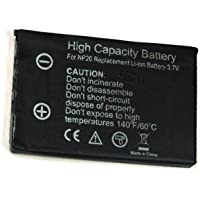 BA5I5 Selection Ioni di Litio Batteria – 500 mAh – per Casio Exilim EX-Z60 |
