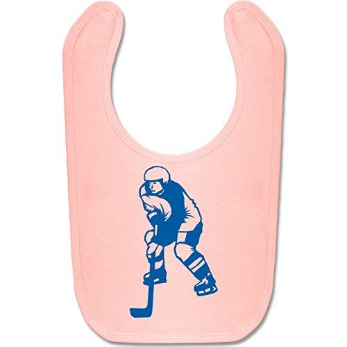 Sport Baby - Eishockey - Unisize - Babyrosa - BZ12 - Baby Lätzchen Baumwolle