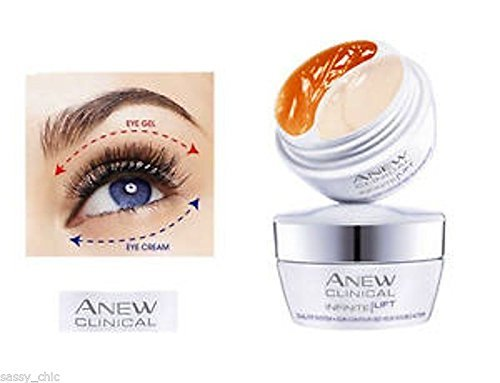 Avon Anew Clinical Infinite Lift Duo gel/crème Contour des Yeux 20 ml