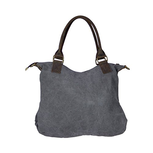 Kelly Long BELLA M, Borsa a tracolla donna nero - grigio