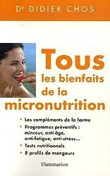 Tous les bienfaits de la micronutrition
