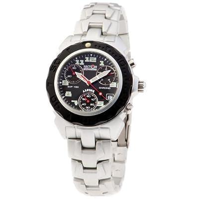 SECTOR 78042 - Reloj Unisex movimiento de cuarzo con brazalete metálico de Sector