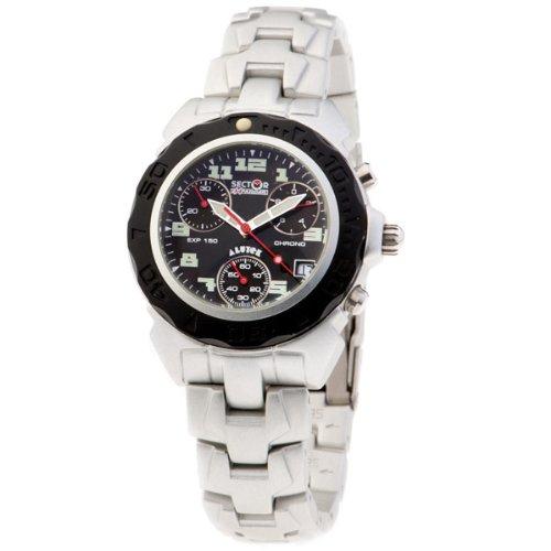 SECTOR 78042 - Reloj Unisex movimiento de cuarzo con brazalete metálico