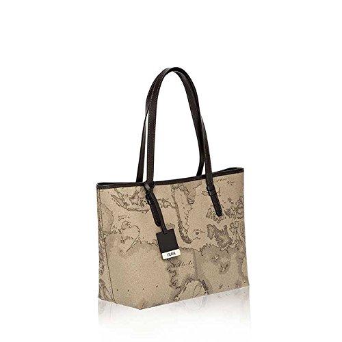 Shopping Bag médias Alviero Martini 1 ^ Classe   Geo Tortora   Nouvelle base   CD00461300590-TORTORA