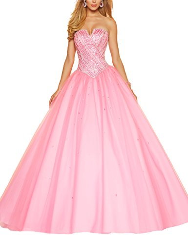 Bridal_Mall - Robe de mariage - ball gown - Femme Rose - Rose