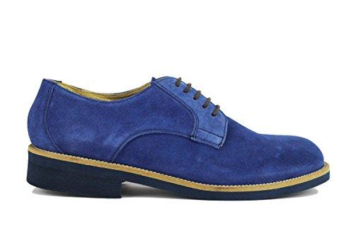 MARECHIARO 1962 AH600 classiche uomo camoscio blu (40 EU)