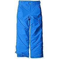 Columbia Ice Slope II - Pantalón ski para niño, color azul, talla L
