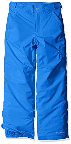 Columbia Pantalón de esquí repelente al agua para niño, Ice Slope II Pant, Nailon, Azul (Super Blue), Talla L, 1523671