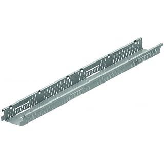 ACO Self® Highline Fassadenrinnenelement 1000mm Stahl verzinkt ohne Rost - Schraublose Rostarretierung - begehbar
