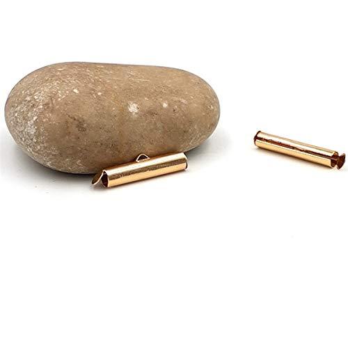 creafirm-20Bits Stäbe Gold 20mm für Miyuki oder Kette kugelgelagert -