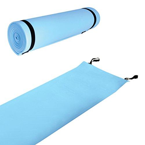 Aislante de goma Eva Milestone Camping - Azul, 180cm