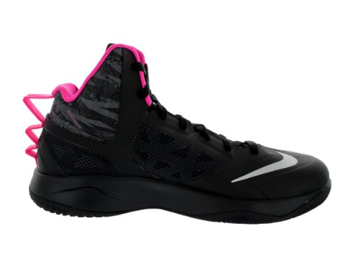 NIKE Zoom Hyperfuse 2013 615896-600, Scarpe da basket Uomo Nero (nero)